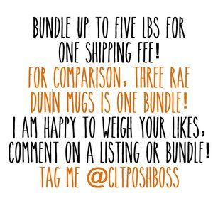 Bundle to save on shipping! Experienced shipper!